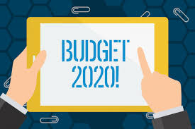 2020 Recommended Budget