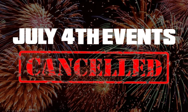 4th of July Celebration & Park and Rec Programs Cancelled