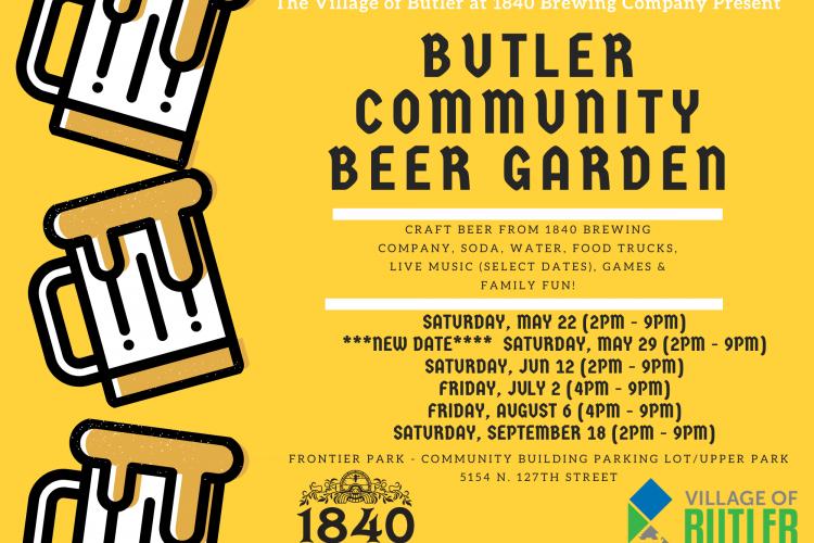Summer Beer Garden Dates